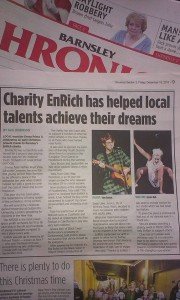 EnRich piece in Chronicle Dec 2015